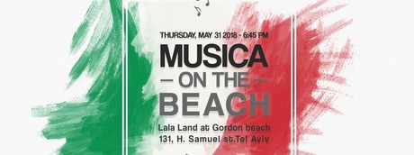 Musica on the beach