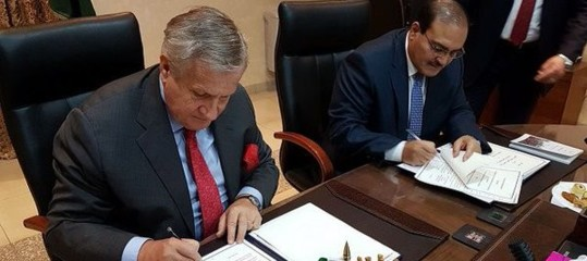 Italy-Jordan: signed an agreement on University cooperation